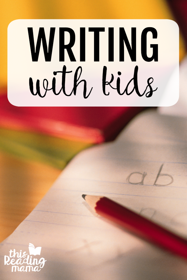 Writing With Kids - printables and activities for teaching writing - This Reading Mama