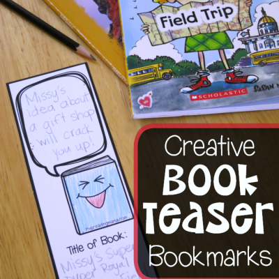 Creative Book Teaser Bookmarks