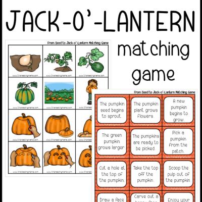 Pumpkin Sequencing Game