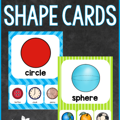 FREE 2D & 3D Shape Cards