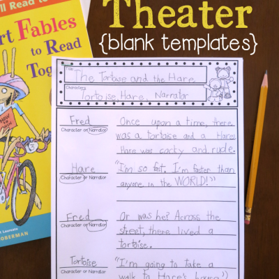 Reader's Theater Templates {Blank Scripts}