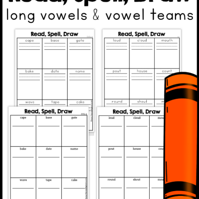 Long Vowel & Vowel Team Phonics Pages