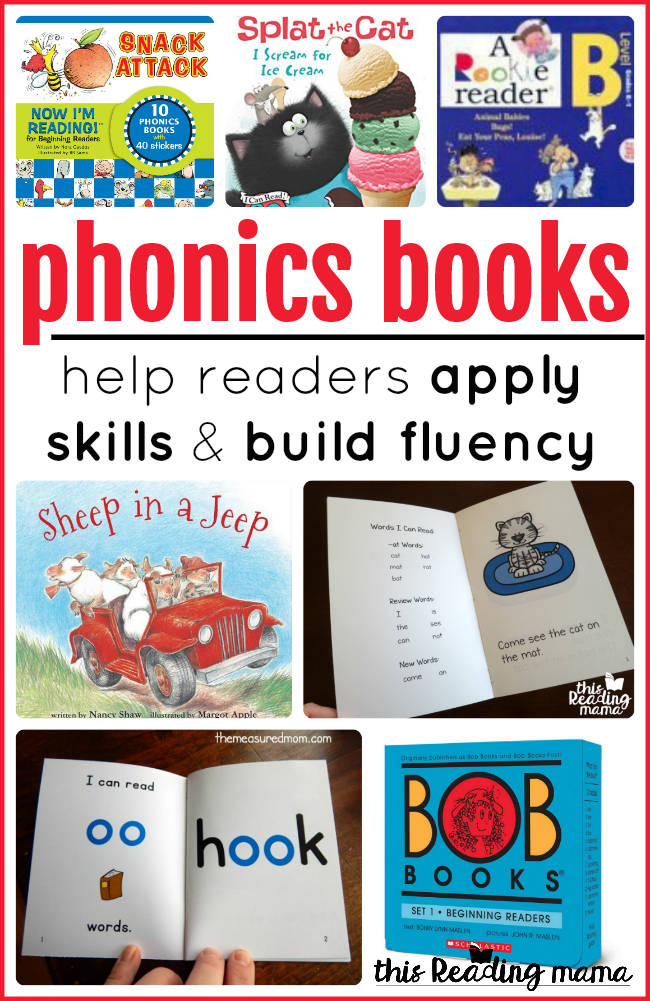 Phonics Books to Help Readers Apply Skills and Build Fluency - This Reading Mama