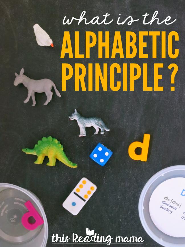 What is the Alphabetic Principle? - This Reading Mama