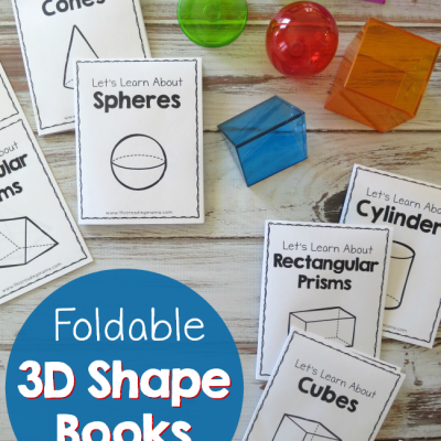 Foldable 3D Shape Books – Easy to Fold!