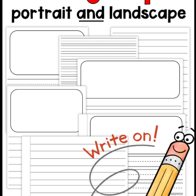 Printable Writing Paper for Kids