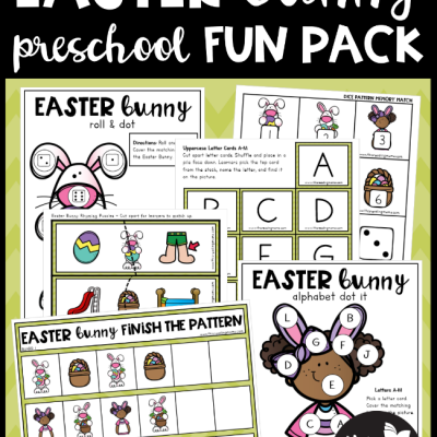 Easter Bunny Preschool Pack