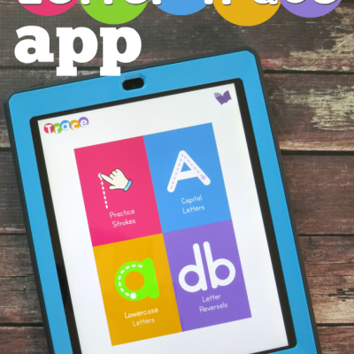 Letter Trace App