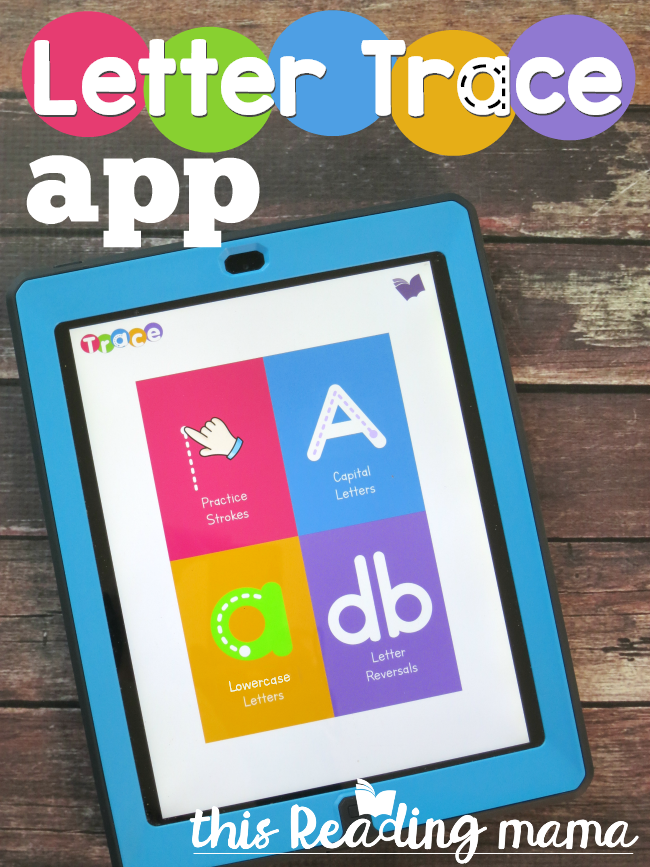 Letter Tracing Apps.Letter Trace App This Reading Mama