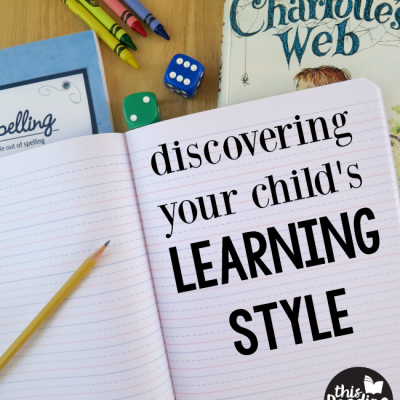 Discovering Your Child's Learning Style