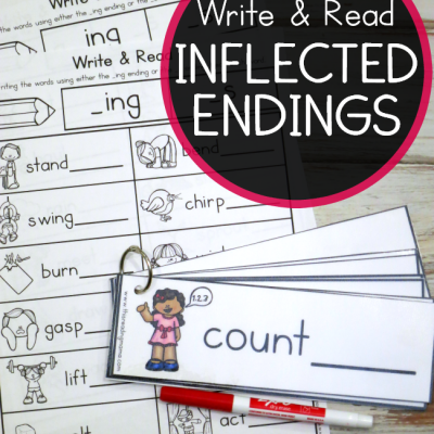 Inflected Endings Pack – Write & Read
