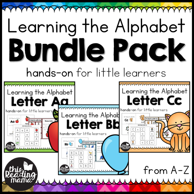 9ba1c21d50 Grab the Bundle pack of Learning the Alphabet! You'll find more than double  the activities for each letter, updated activities, and updated clip art!  WOW!