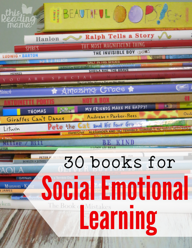 Social Emotional Learning Books that can Lead to Great Discussions - This Reading Mama