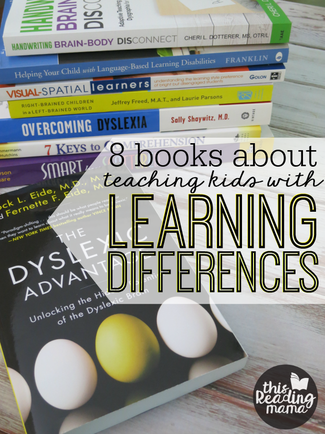 Books about Teaching Kids with Learning Differences - This Reading Mama