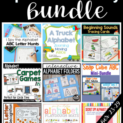Alphabet & Literacy Bundle {No longer available}
