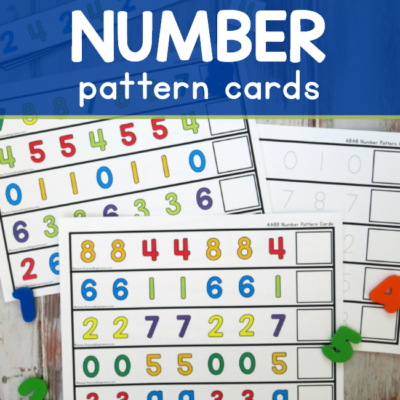Number Pattern Cards