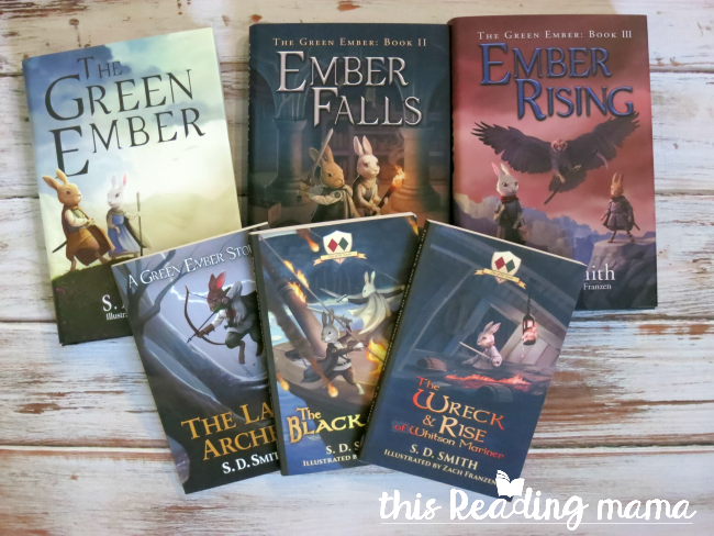 The Green Ember Series - first 6 books