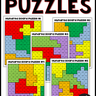 Free Hundred Board Puzzles
