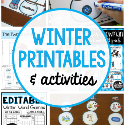 Winter Printables and Activities