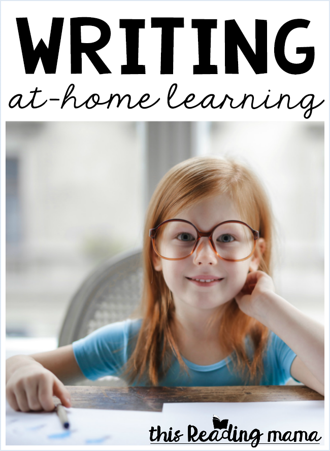 At-Home Writing Help & Tips - This Reading Mama