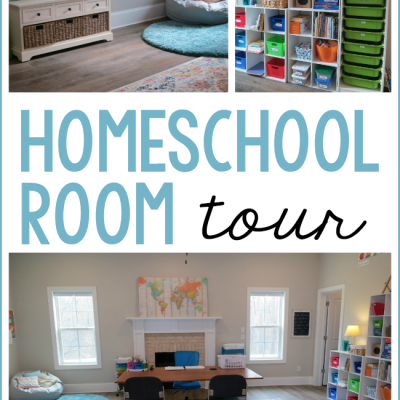 Homeschool Room Tour {2020}