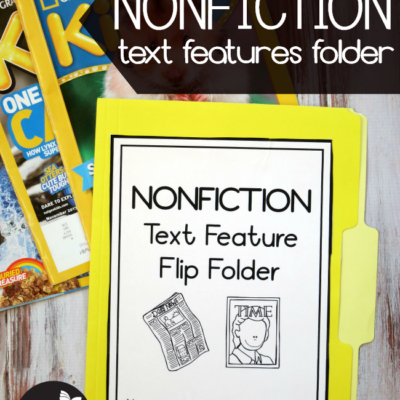 Nonfiction Text Features Folder