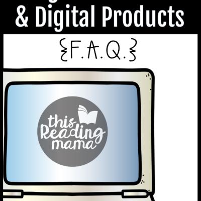 Google Classroom & Digital Products F.A.Q.