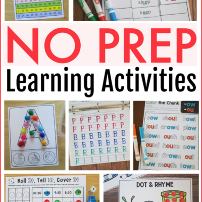 NO PREP Learning Activities