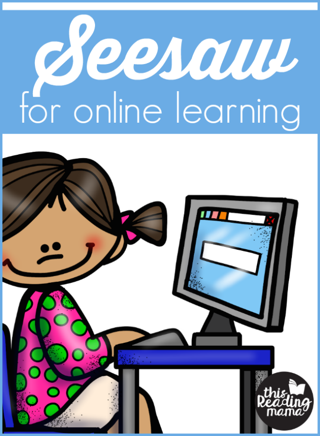 Seesaw Tutorial for Online Learning - This Reading Mama