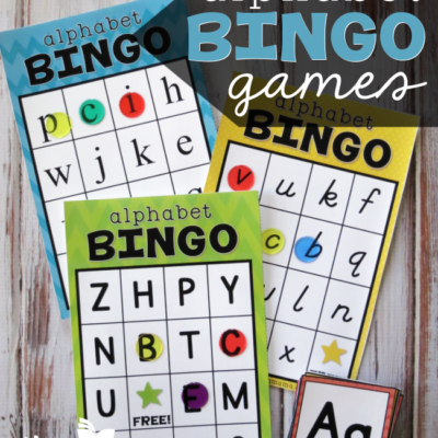 Printable Alphabet BINGO {FREE!}