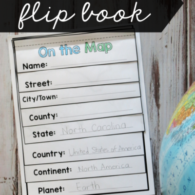 Geography Flip Book – Editable
