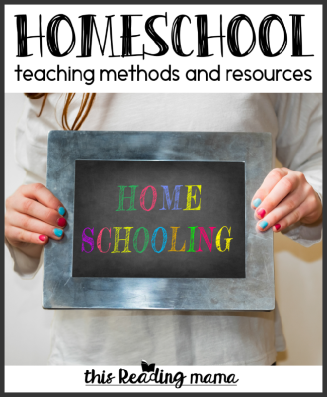 Homeschool Teaching Methods and Resources - This Reading Mama