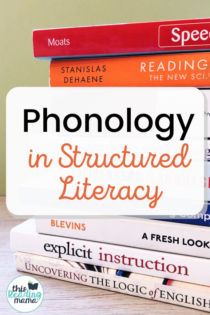 Phonology within Structured Literacy - This Reading Mama