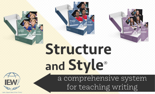 IEW - best writing curricula for struggling learners