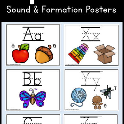 Alphabet Sound and Formation Posters
